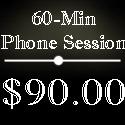 60 min phone session