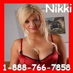 Phone session with Nikki - 888-766-7858 - Sexzphone.com