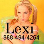 Phonesex with Lexi 888-494-4264